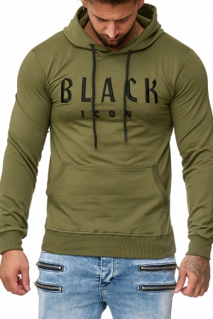 Herren Shirt BLACK ICON- KHAKI 52004-3